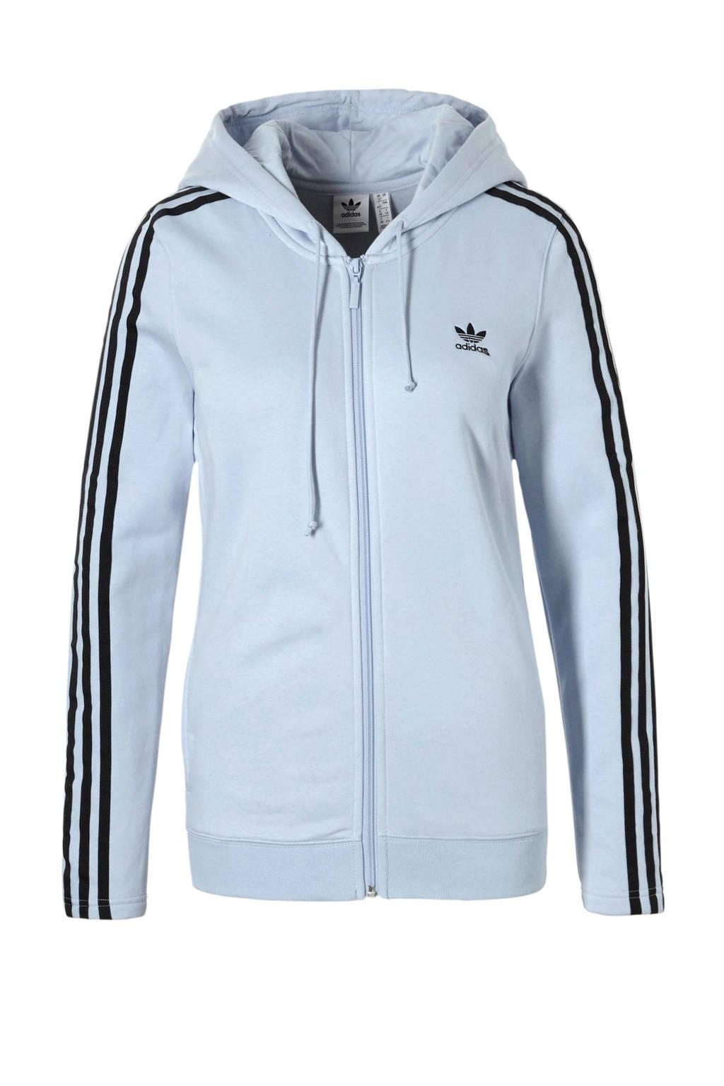 db7e2db1a57 adidas originals vest, Lichtblauw/donkerblauw