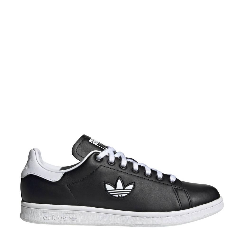 adidas Originals   Stan Smith leren sneakers zwart, Zwart/wit