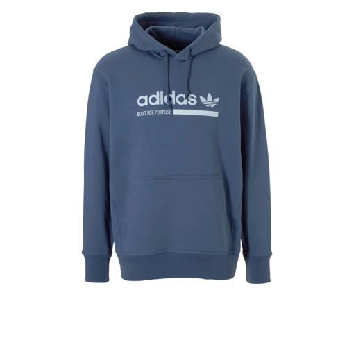 adidas originals sweater blauw