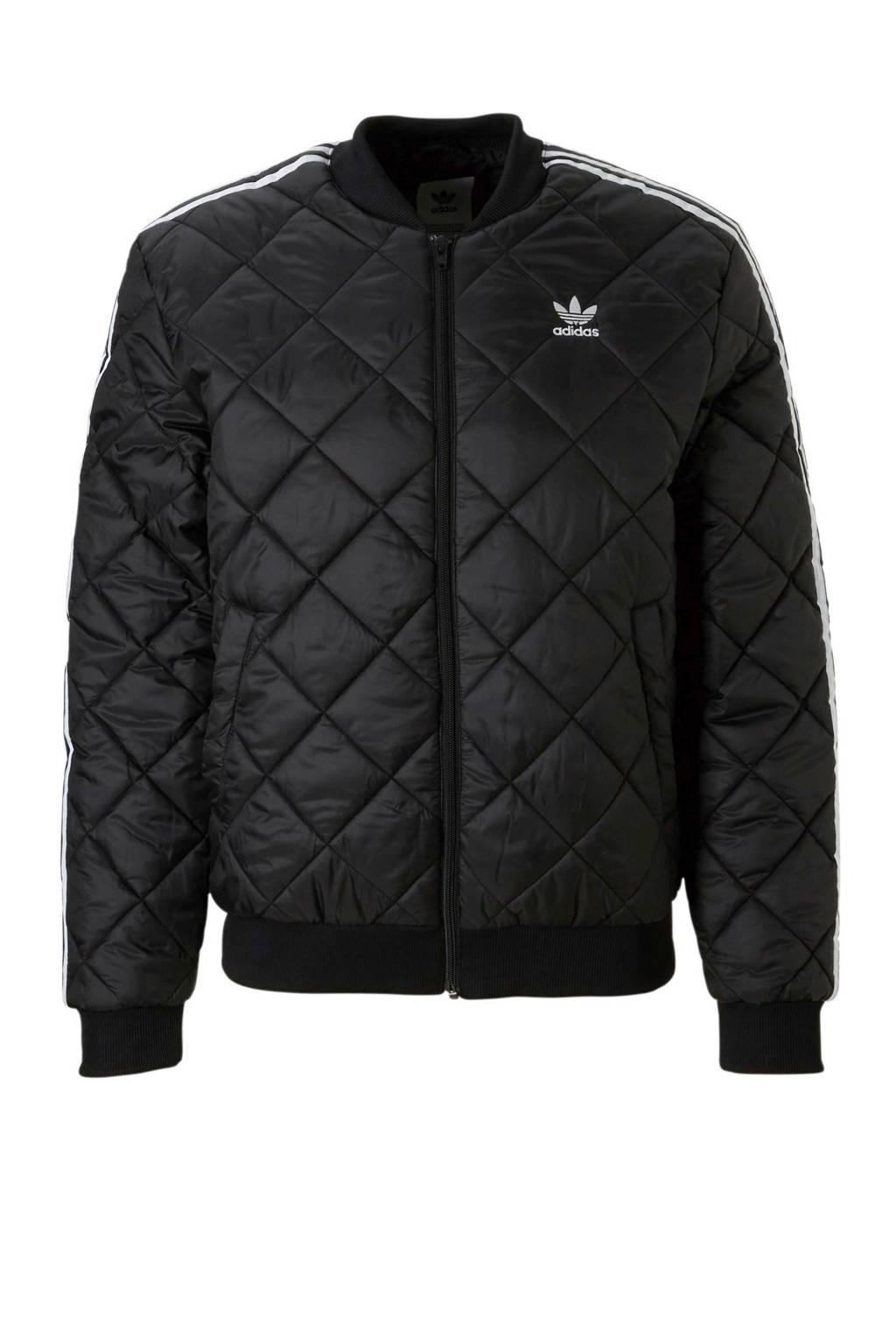 adidas originals   jas, Zwart