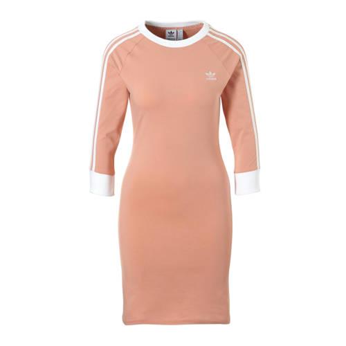 adidas originals jurk zalmroze