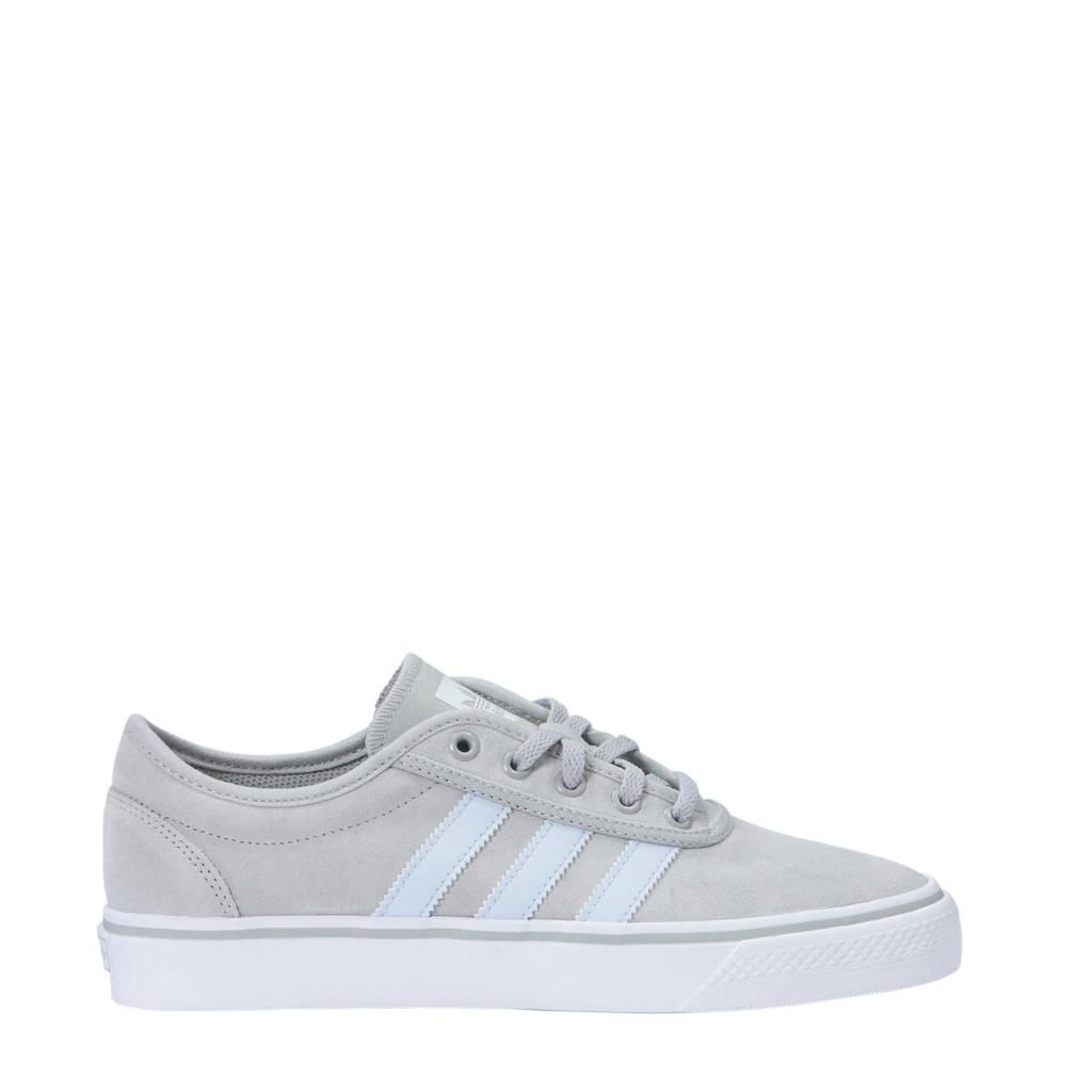 wit Sneakers ease Originals Lichtgrijs Suede Adidas Adi gnCtTY