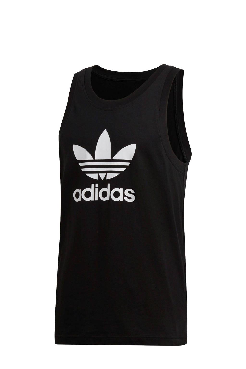 adidas Originals singlet zwart, Zwart/wit