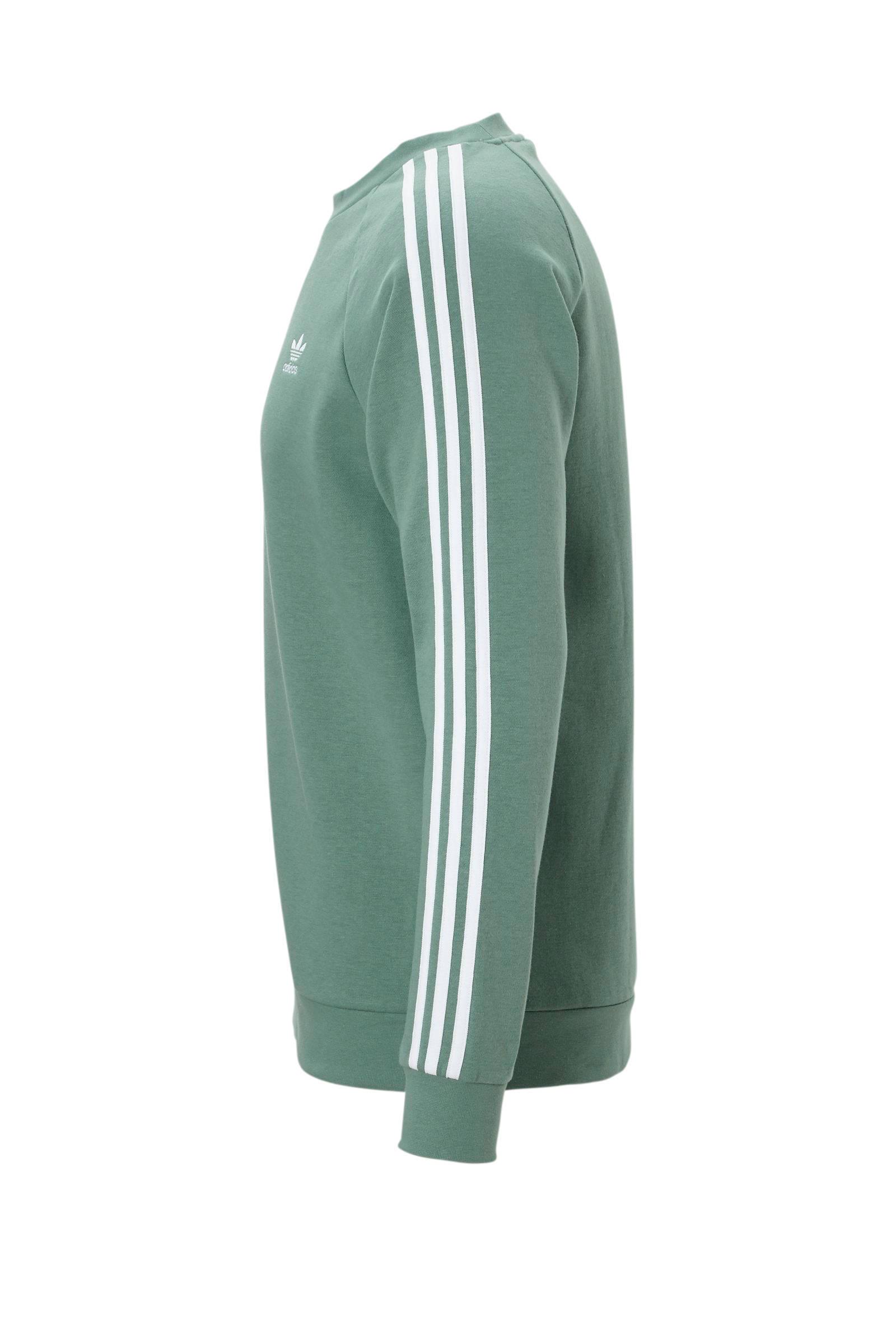 adidas Originals sweater mintgroen | wehkamp