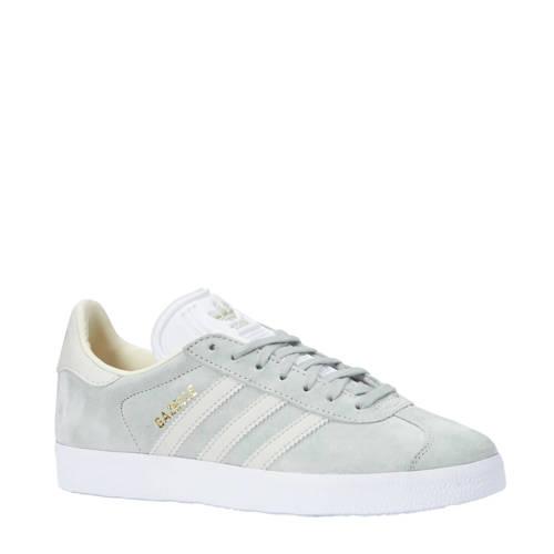 adidas originals Gazelle sneakers grijsblauw-wit