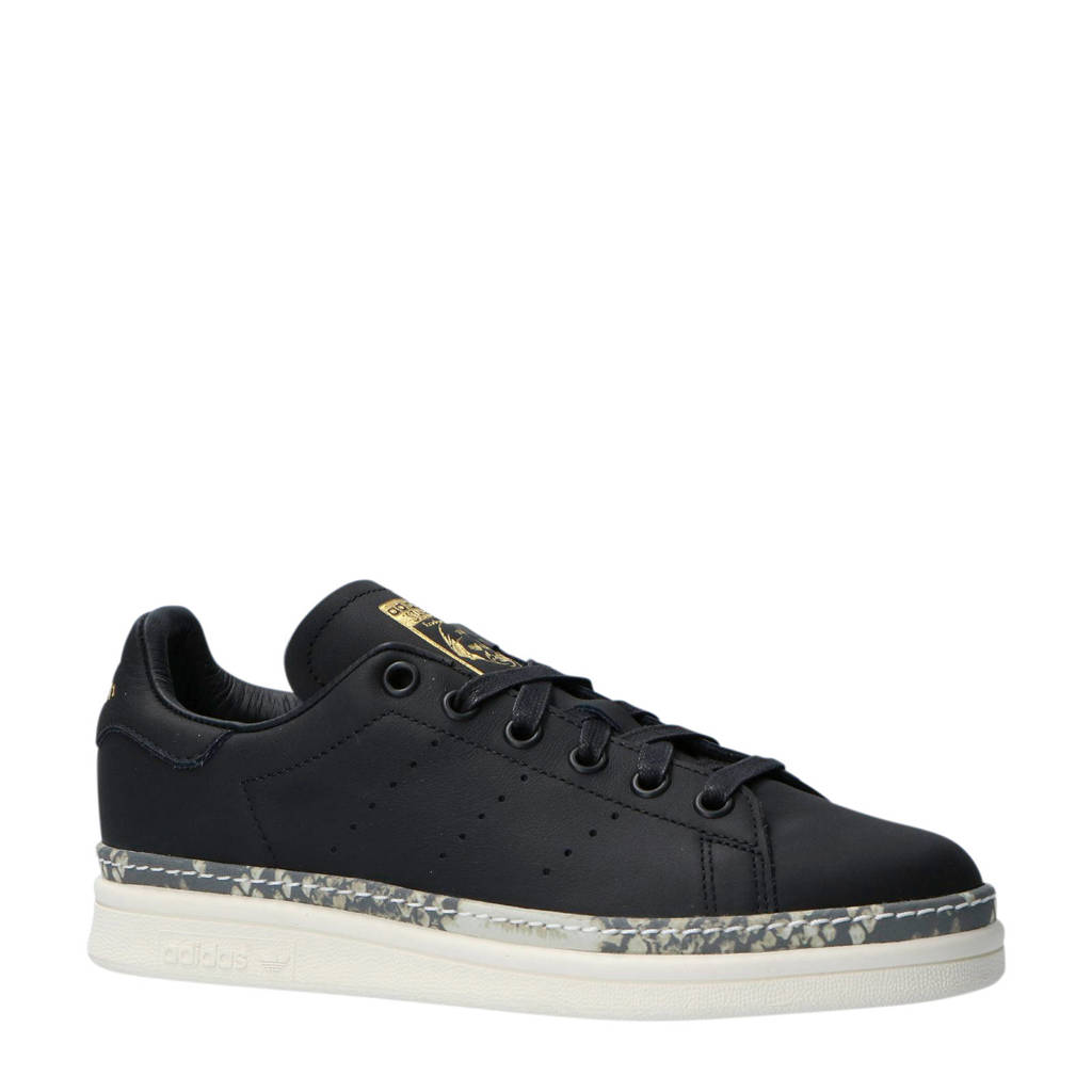 f4f7860f7ab adidas originals Stan Smith New Bold W leren sneakers | wehkamp