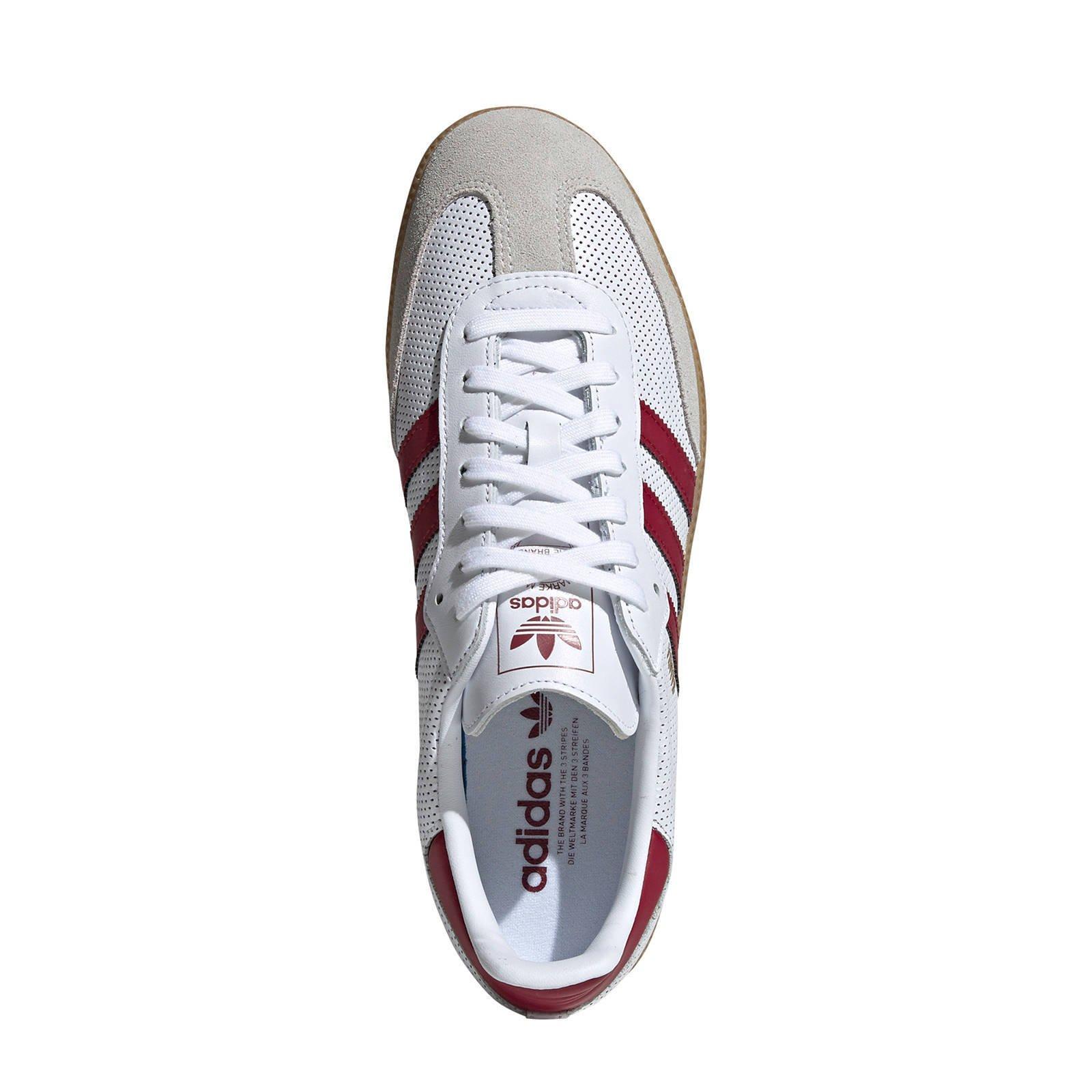adidas originals samba rood dames