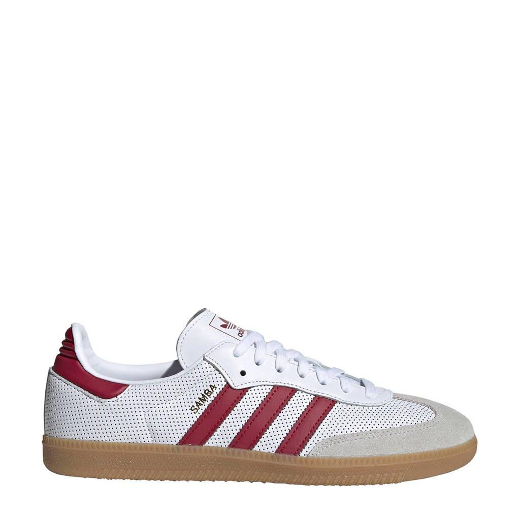 adidas originals  Samba OG sneakers wit/rood, Wit/rood