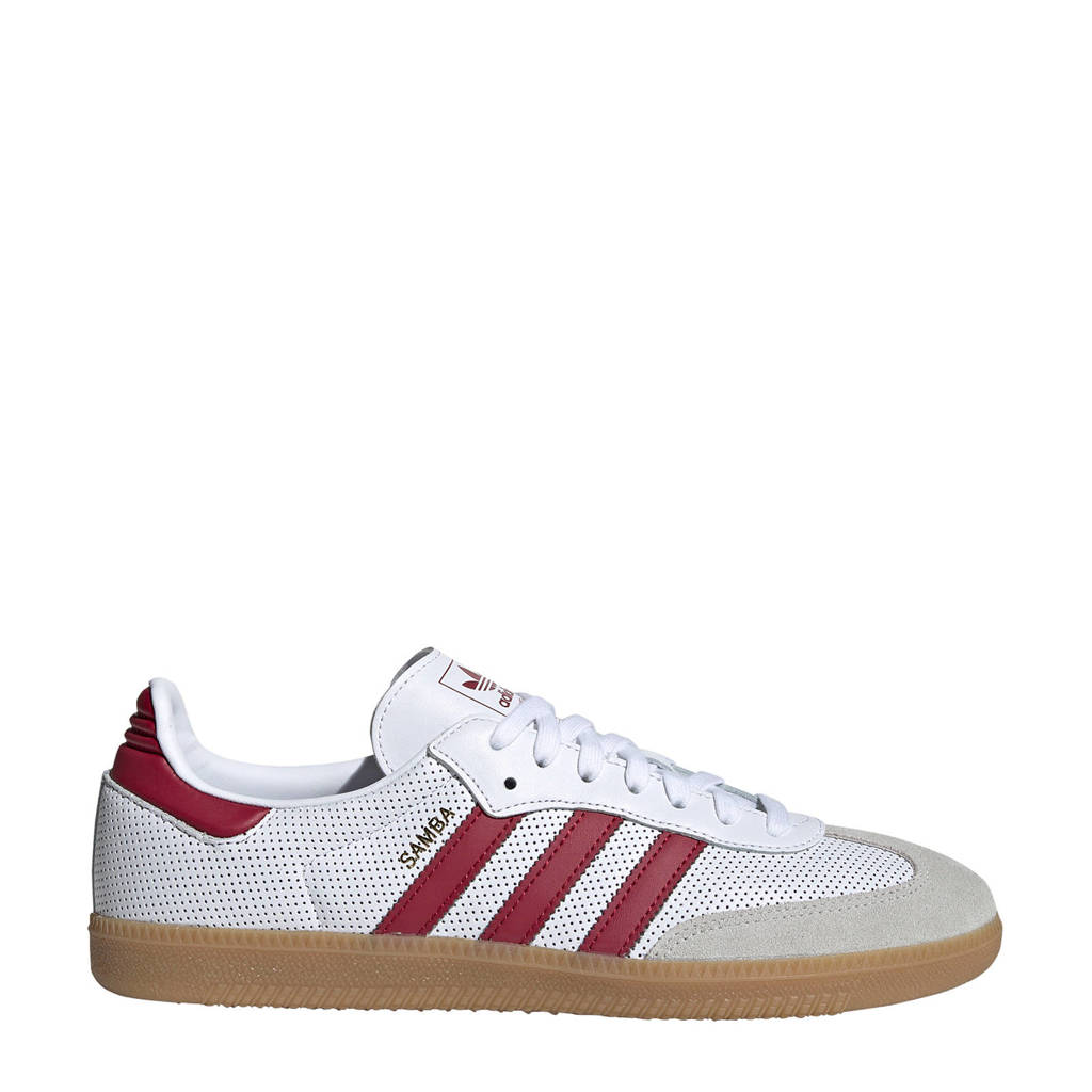 adidas Originals Samba  OG sneakers wit/rood, Wit/rood