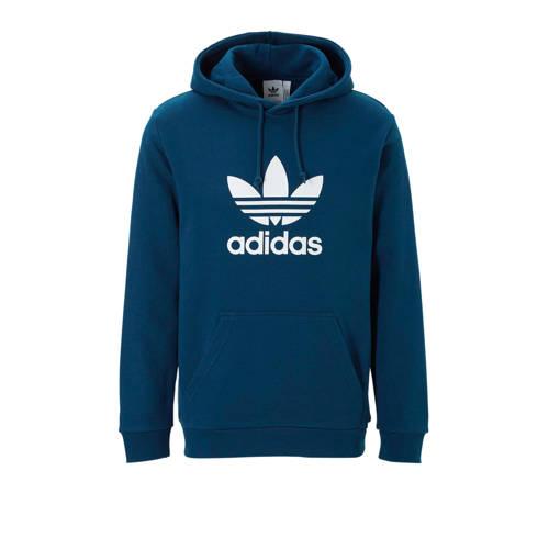 adidas originals hoodie blauw