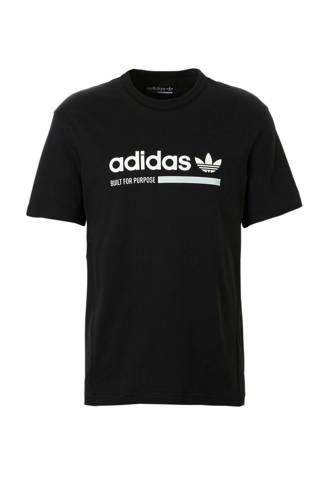 originals   sport T-shirt zwart