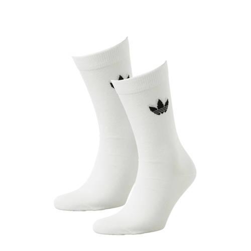adidas originals sokken (set van 2) wit kopen
