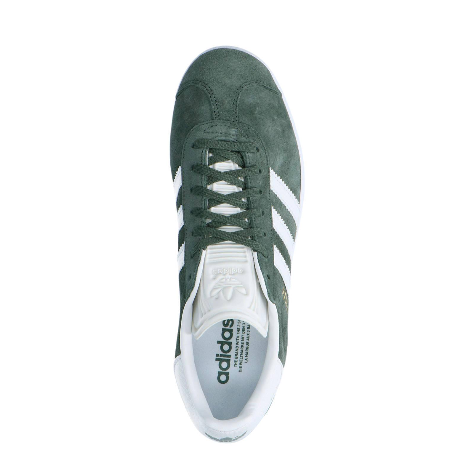 adidas sneakers wit grijs