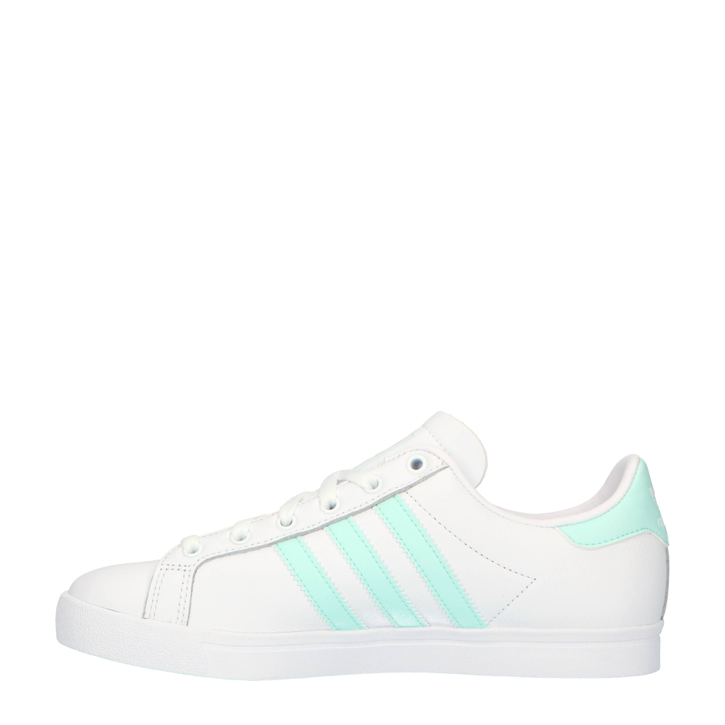 bf7a3373794 adidas originals Coast Star sneakers wit/mintgroen | wehkamp