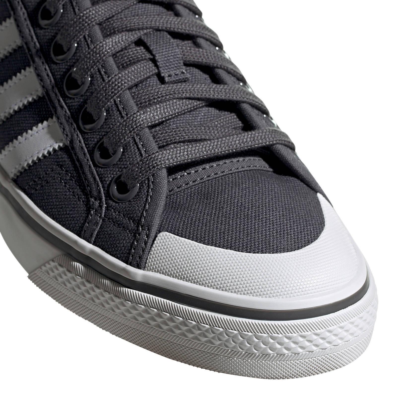 adidas originals Nizza sneakers antraciet   wehkamp