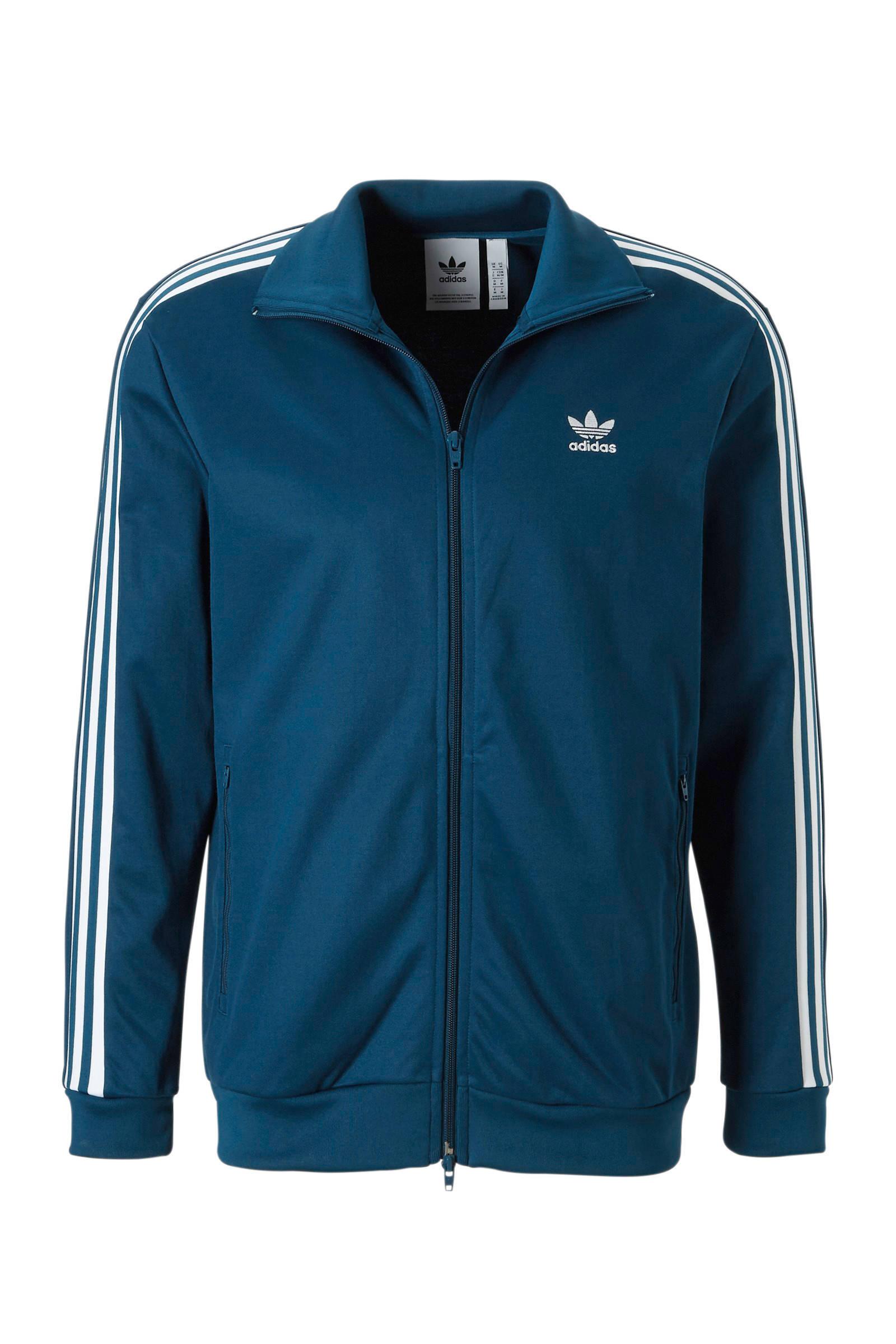 12ccd05b8b9 adidas originals vest blauw | wehkamp