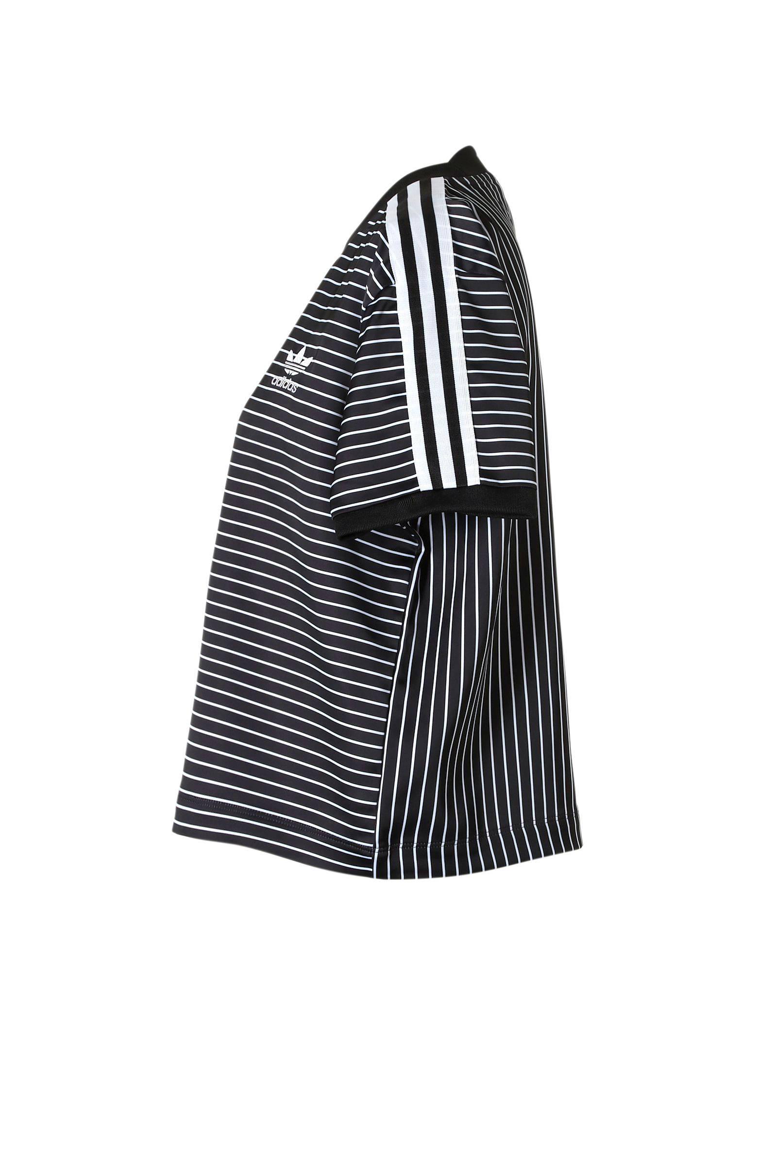 finest selection 2ea24 772fa Zwartwit Met Adidas Wehkamp T Originals Shirt Strepen wtxXq