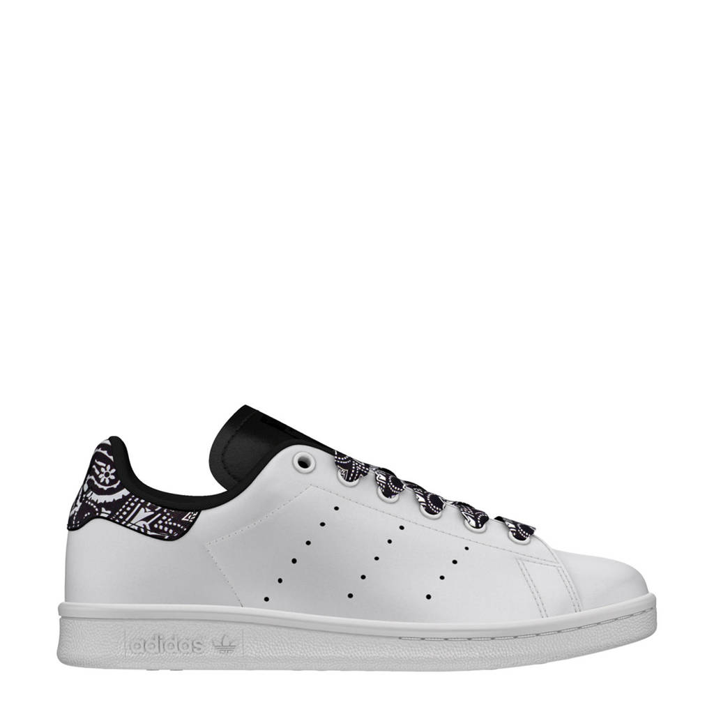 84c46424555 adidas originals Stan Smith J sneakers wit/zwart, Wit/zwart