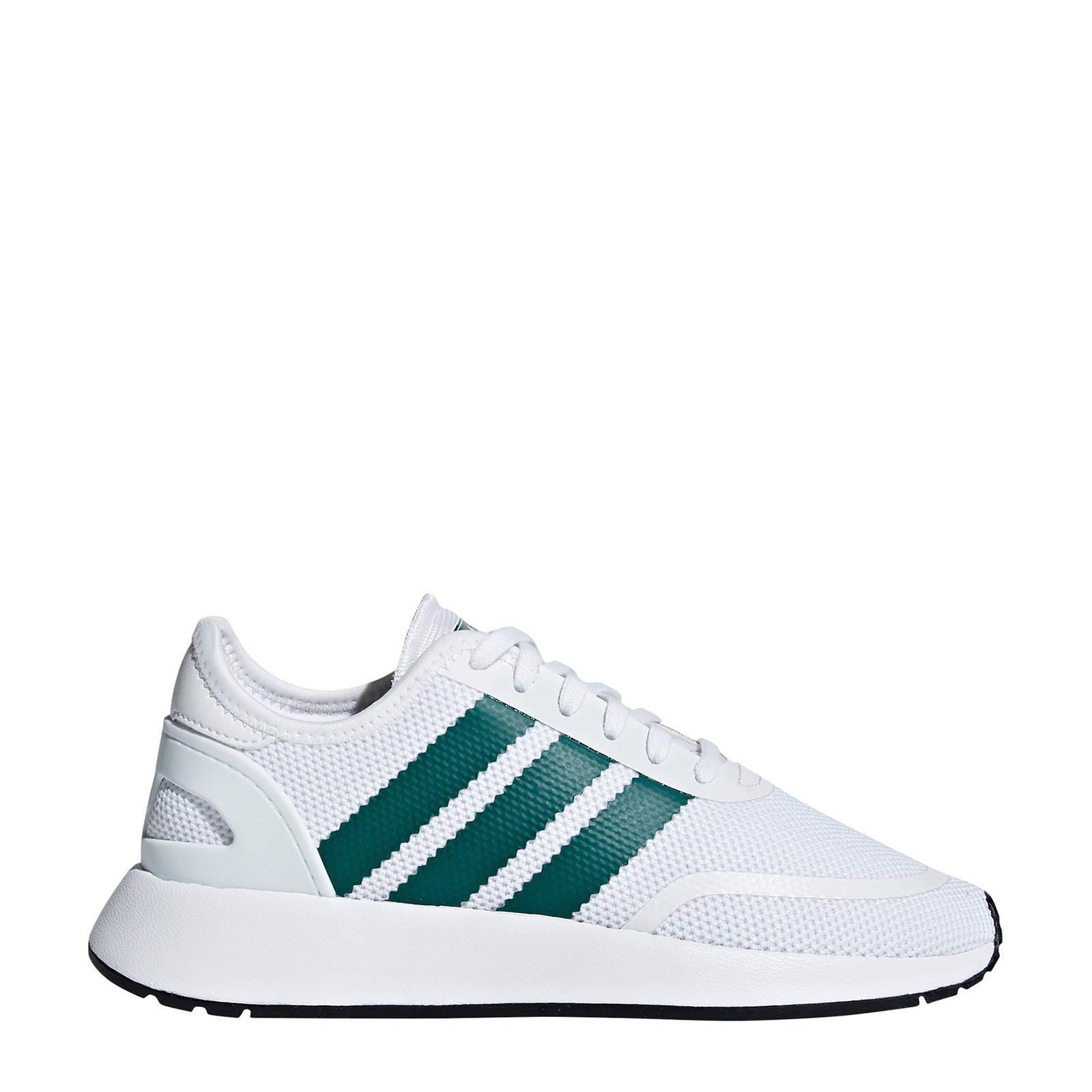 N 5923 J sneakers witgroen