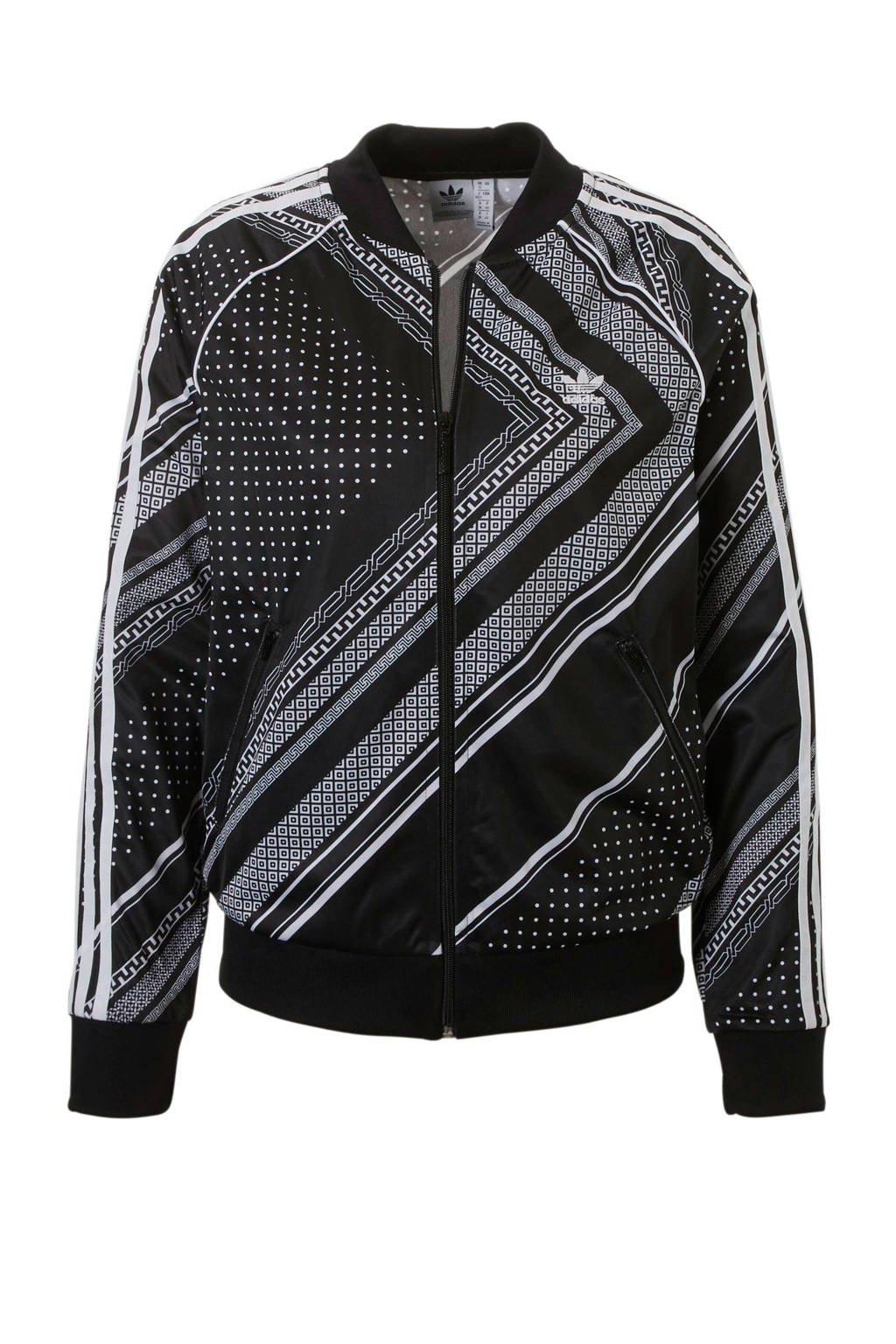 adidas originals vest, Zwart/wit