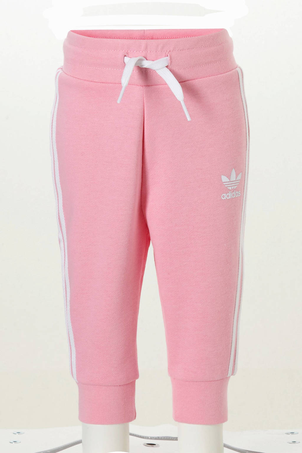 adidas originals trainingspak roze, Roze/wit