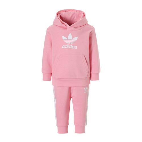 adidas originals trainingspak roze