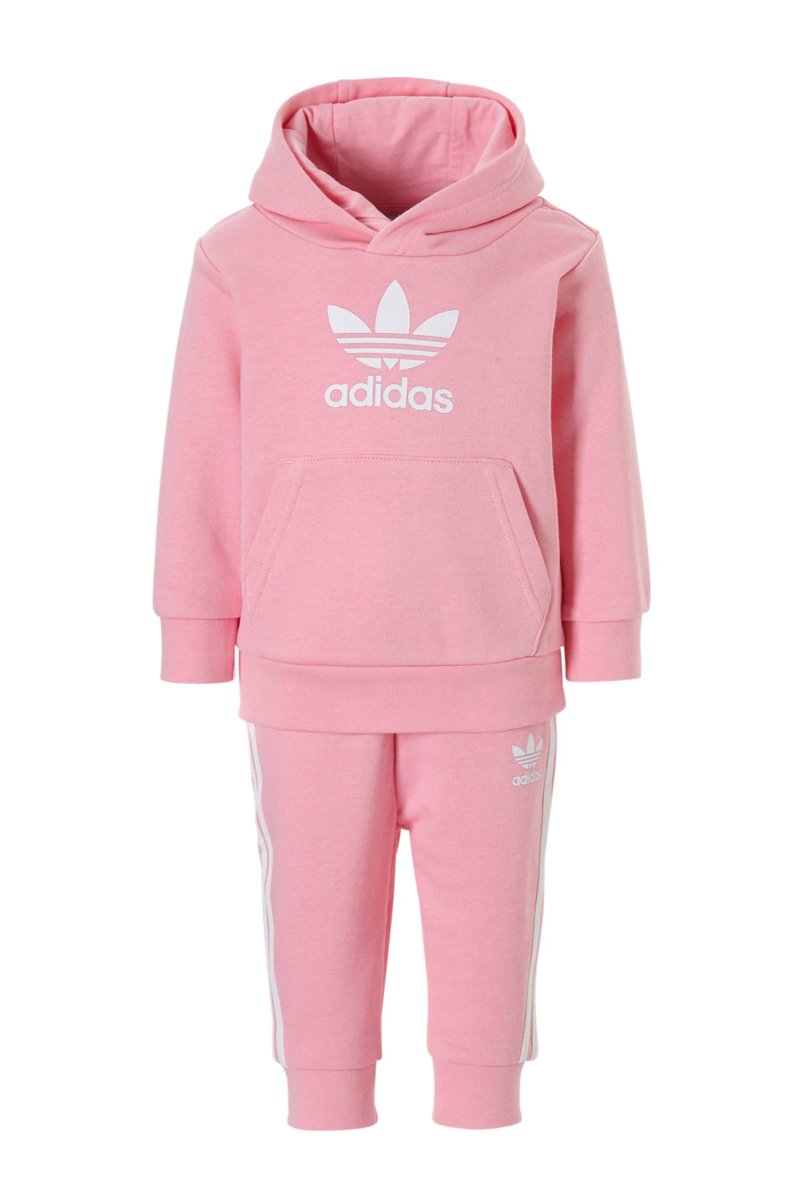 0353de9d7e5 adidas originals trainingspak roze   wehkamp