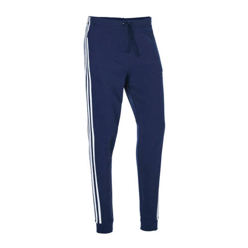 adidas originals joggingbroek donkerblauw