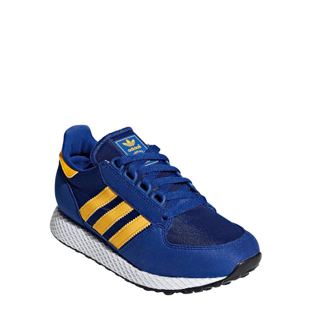 adidas originals  Forest Grove J sneakers blauw, Blauw/geel