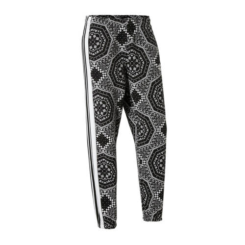 adidas originals joggingbroek zwart-wit
