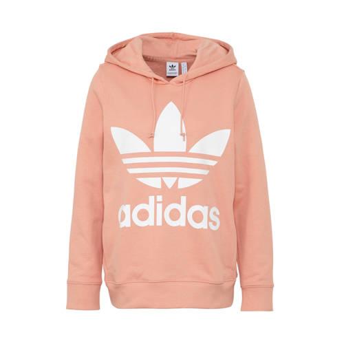 adidas originals hoodie zalmroze