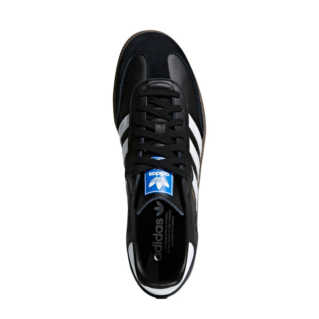 Adidas wit Zwart Og Originals Sneakers Samba 7xwqxa4nT
