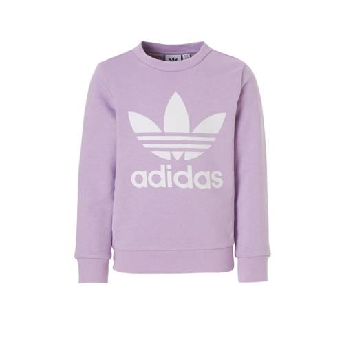adidas originals sweater lichtpaars kopen