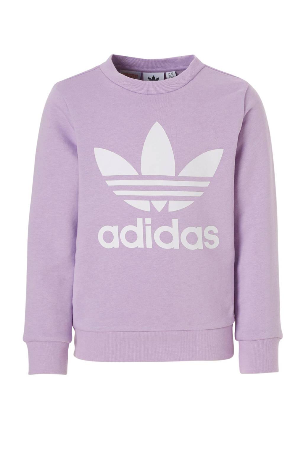 adidas Originals sweater lichtpaars, Lichtpaars