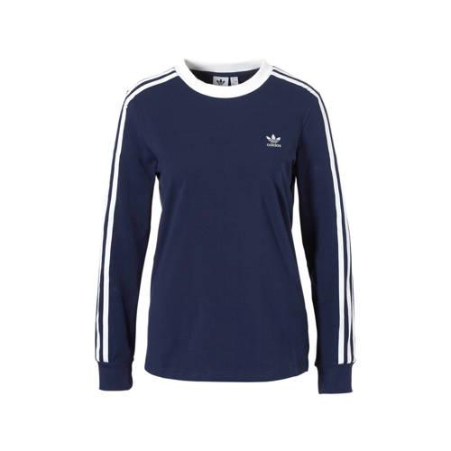 adidas originals T-shirt donkerblauw