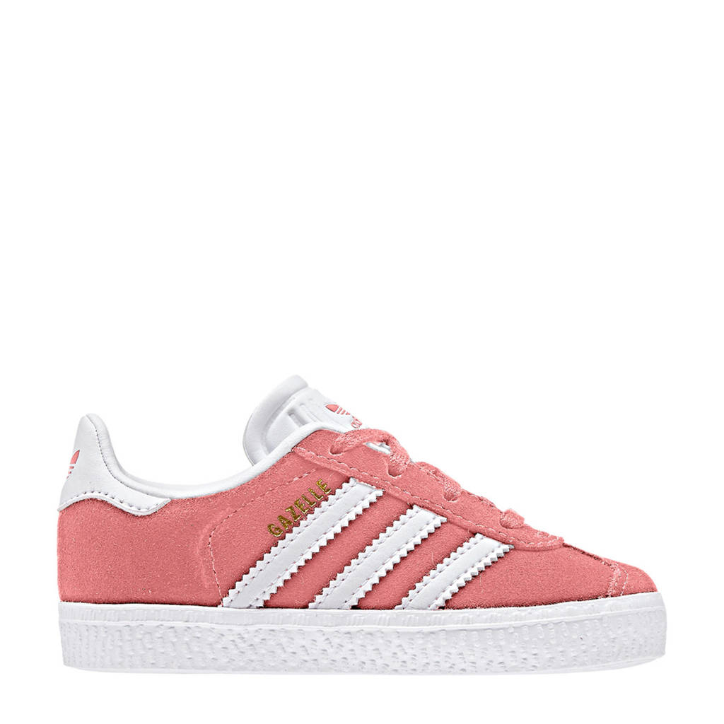 adidas originals  Gazelle I sneakers, Roze/wit