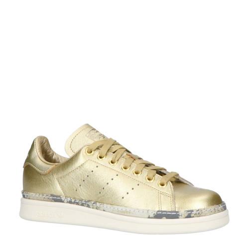 adidas originals Stan Smith New Bold W leren sneakers goud