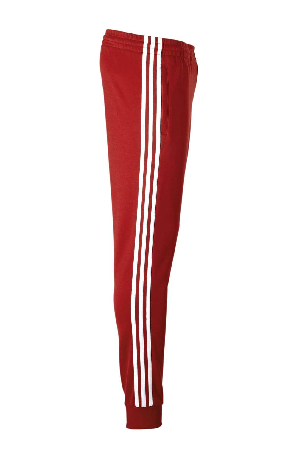 d43690d3da0 adidas originals trainingsbroek rood | wehkamp
