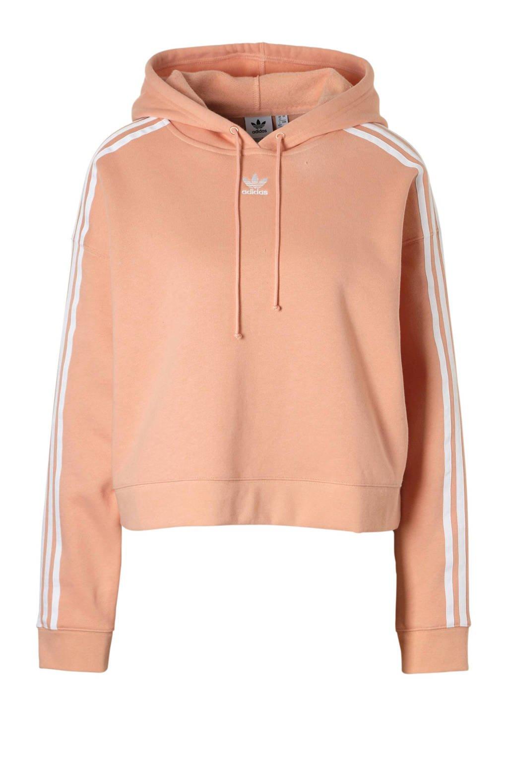 adidas originals hoodie zalmroze, Zalmroze