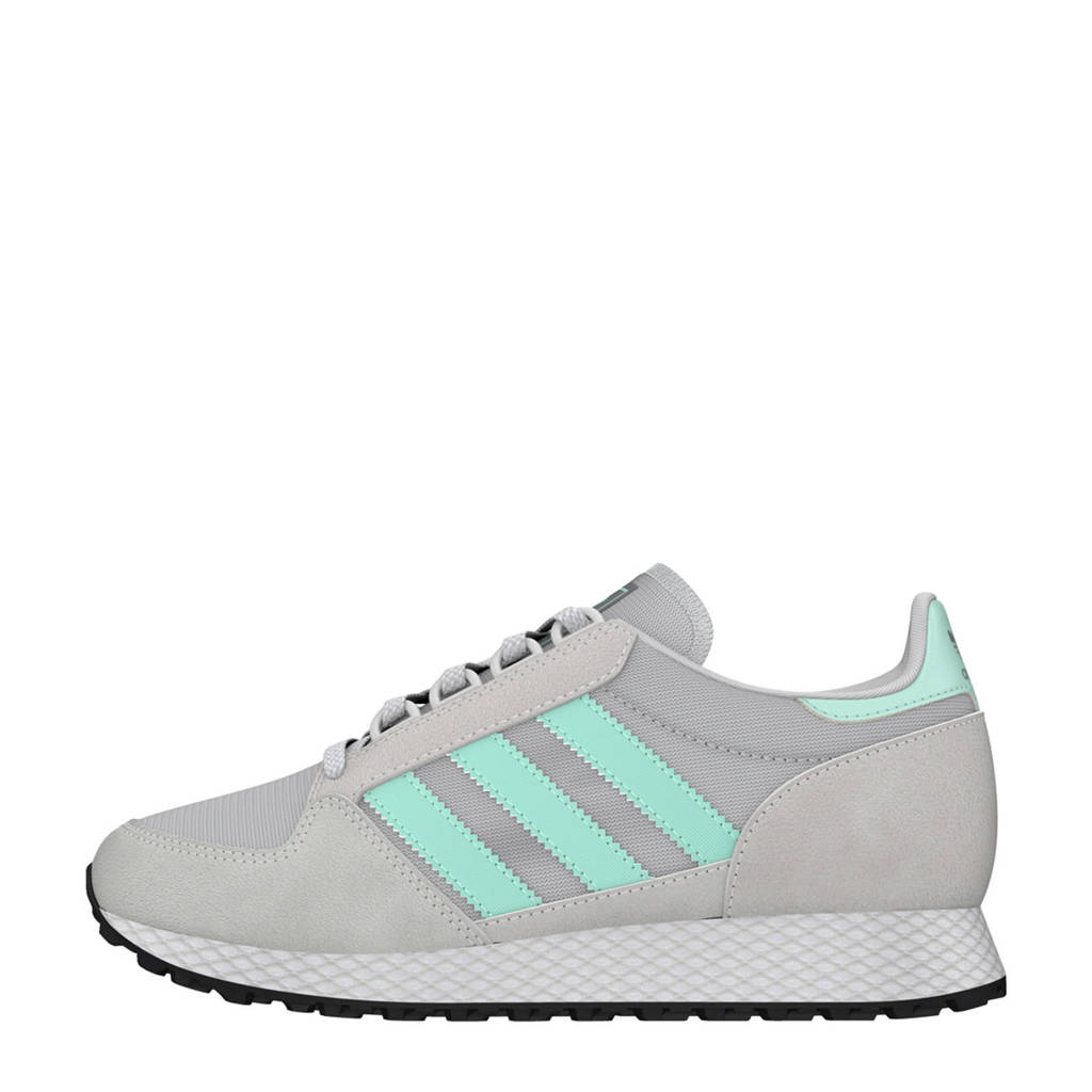 adidas originals  Forest Grove J sneakers, Grijs/mintgroen