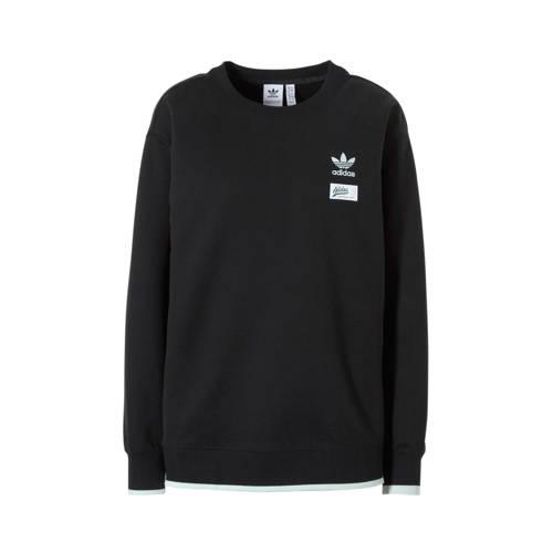 adidas originals originals sweater zwart