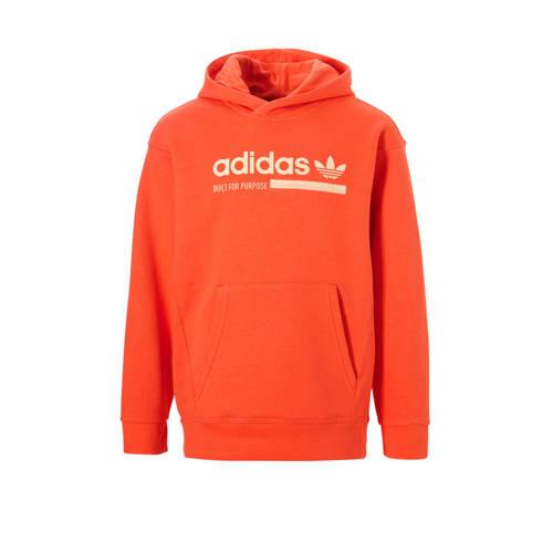 adidas originals hoodie oranje