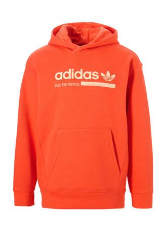 originals hoodie oranje