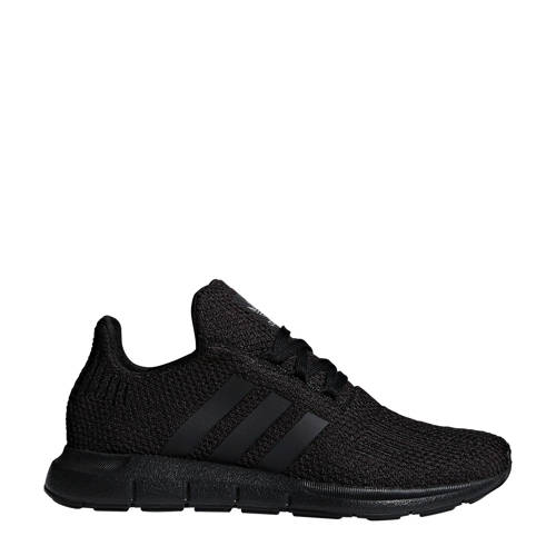 adidas originals Swift Run J sneakers zwart kopen