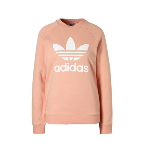 adidas originals sweater zalmroze
