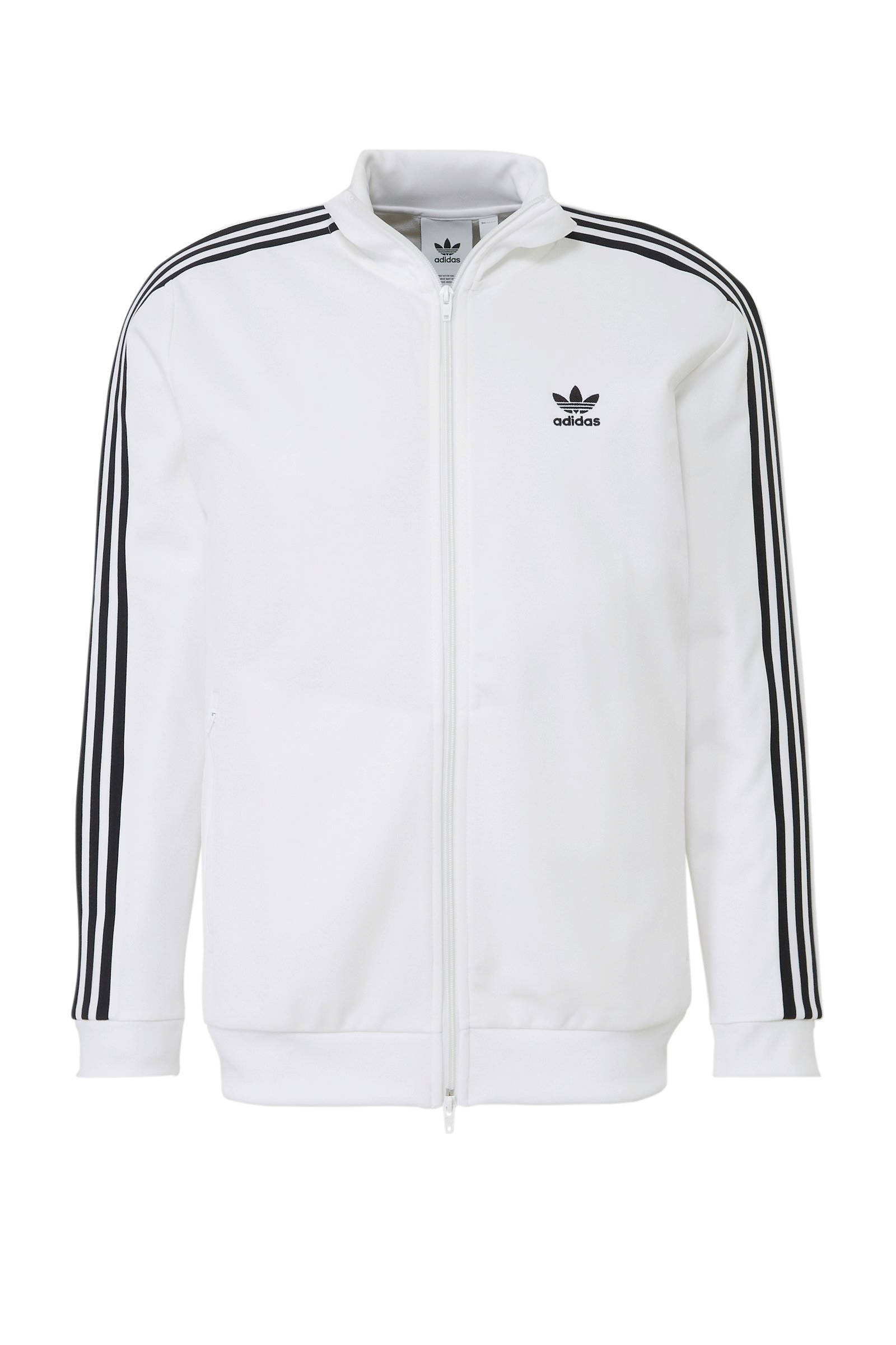 adidas Originals vest wit | wehkamp