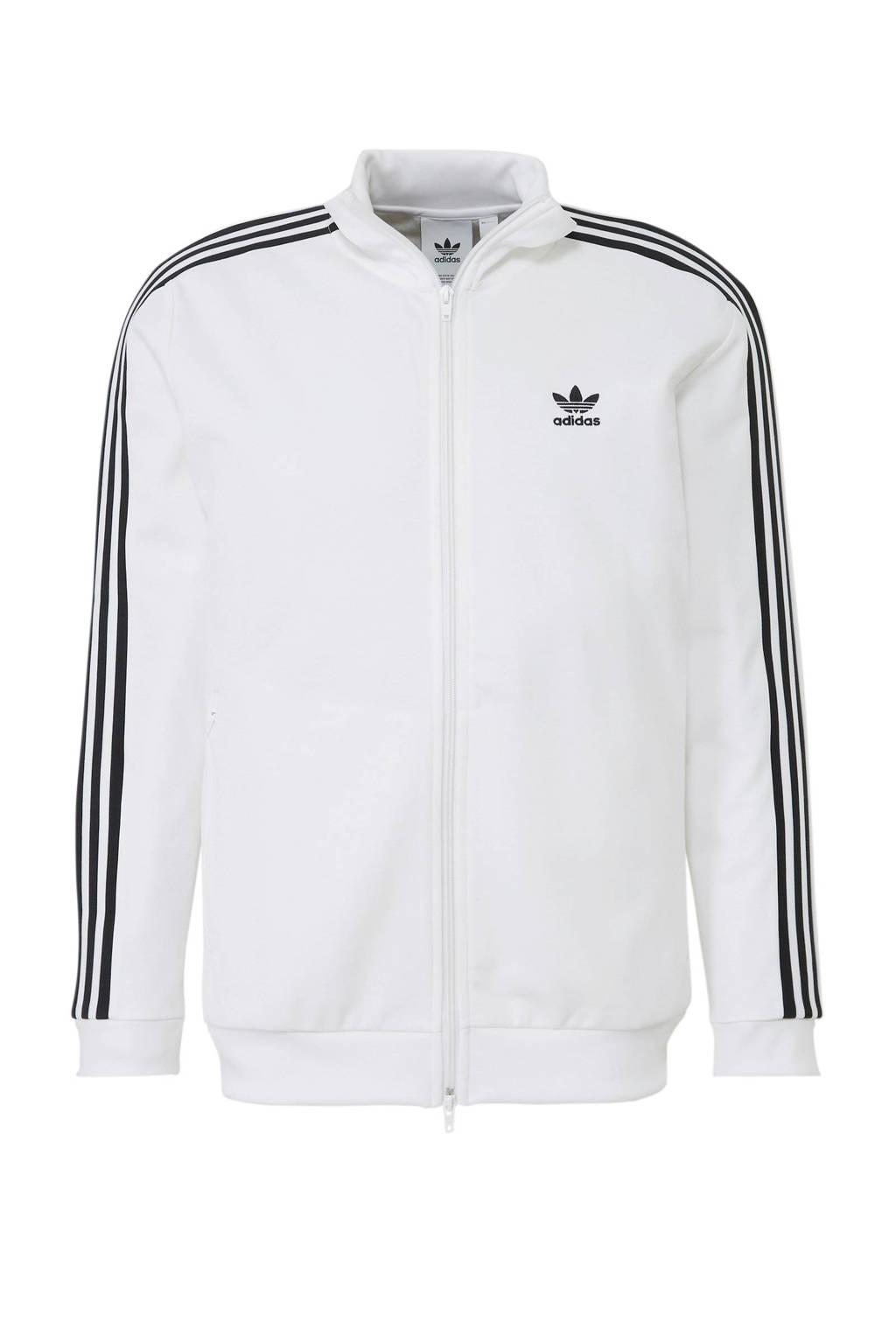 adidas originals   vest wit, Wit