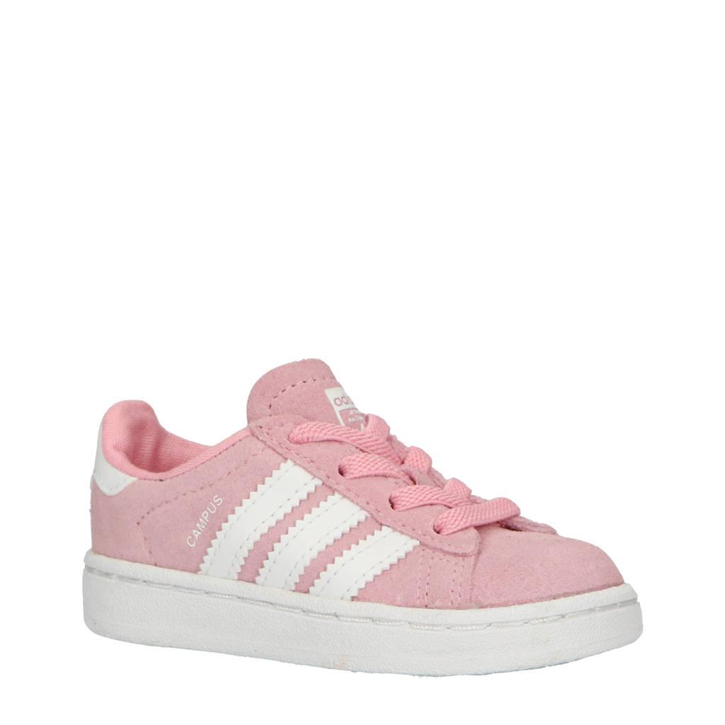 adidas originals  Campus EL I sneakers roze, Roze/wit
