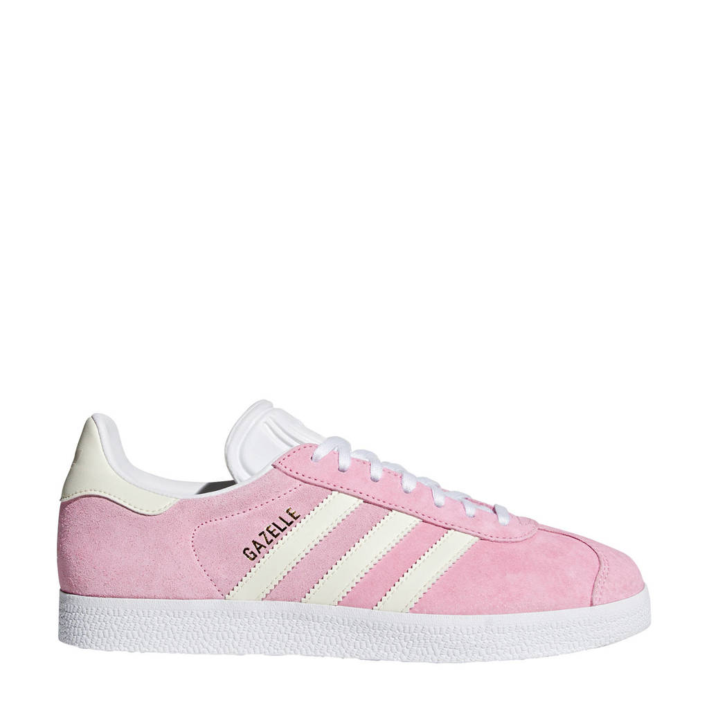 adidas originals  Gazelle sneakers roze, Roze/wit