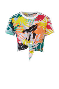 adidas / adidas originals crop T-shirt